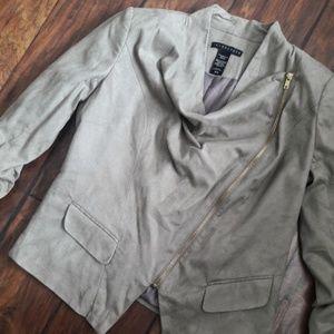 Apostrophe Zippered Jacket Medium